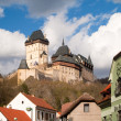 Stock Photo: Karlstejn Castle in Czech Republic
