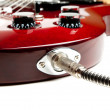 Electric Guitar Detail — Foto Stock