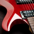 Electric Guitar Detail — Stock Photo