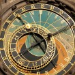 Astronomical clock in Prague — Foto Stock