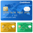 Credit-card-expand — Stock Vector
