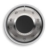 Combination Lock. Combination Safe Lock. Vector Illustration. — Stock Vector