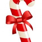 Christmas candy cane — Stock Vector