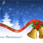 Christmas postcard — Stock Vector