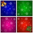 Christmas backgrounds — Vettoriali Stock
