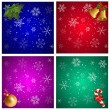 Christmas backgrounds — Imagen vectorial