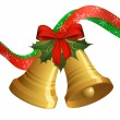 Christmas bells — Image vectorielle