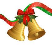 Рождественские колокола — Cтоковый вектор