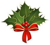 Christmas Holly — Vector de stock