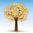 Autumn tree — Stock Vector #30800141