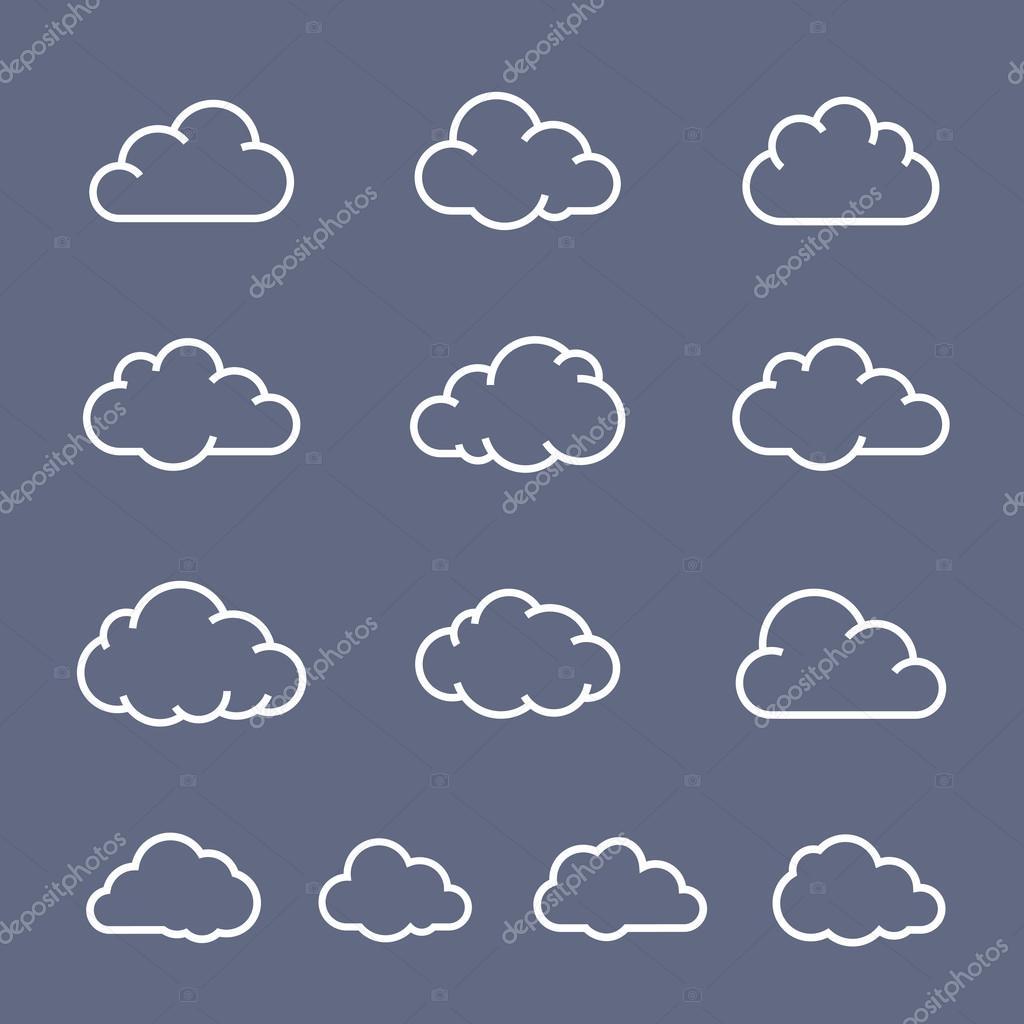 云的形状集合
