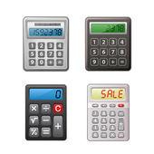 Calculator collection — Stock Vector