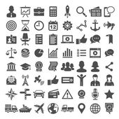 Universal icon set. 64 icons — Stock Vector