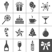 Holidays and event icons — Stock Vector