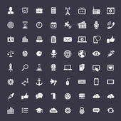 Big universal icon set — Stock Vector