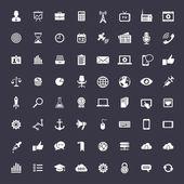 Big universal icon set — Stock Vector