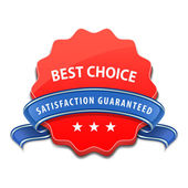 Best choice sign — Stockvektor