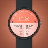 Smartwatch的样机 — 图库矢量图片