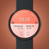 Smartwatch mockup — Stock Vector
