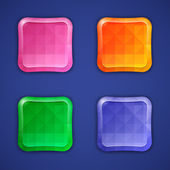 Mosaic colorful buttons — Vettoriale Stock