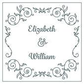Cartão de convite de casamento — Vetorial Stock