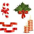Christmas icon set — Stock Vector #7376911