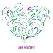 Happy mother day background, vector illustration — Vector de stock