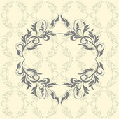 Decorative frames  for design in vintage style — Stock Vector