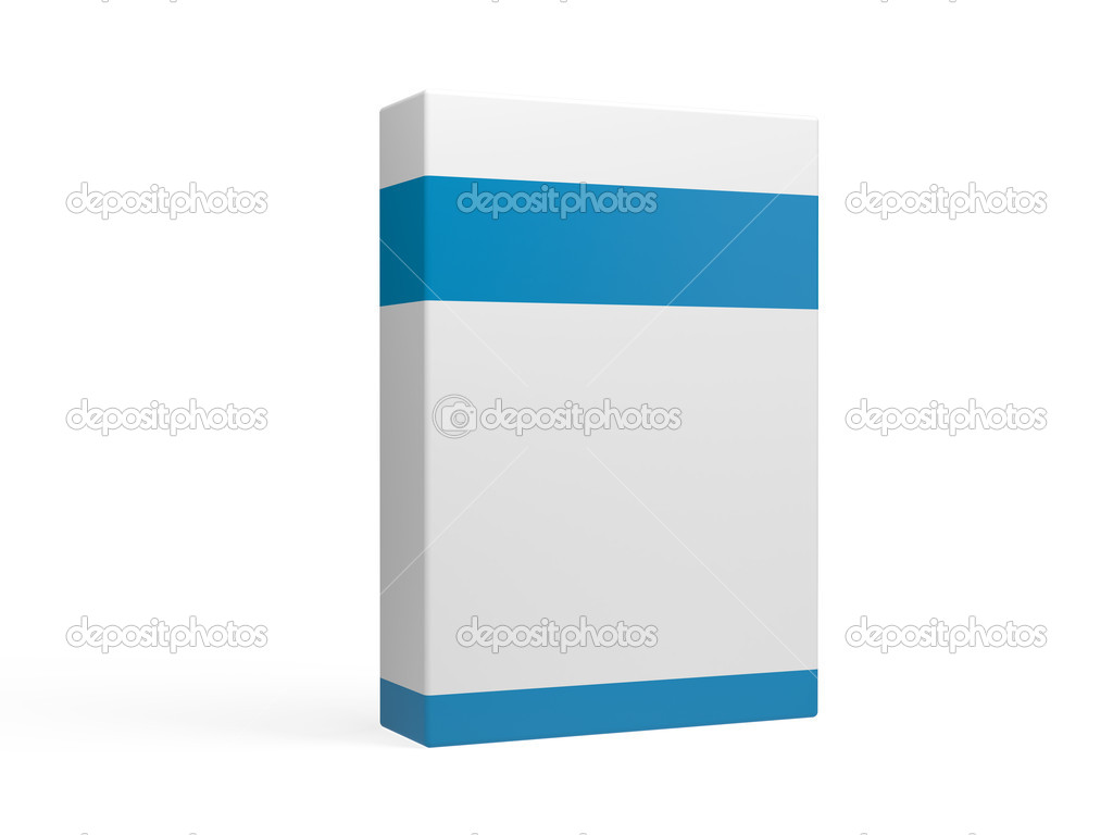 White box on a background   Stock Photo #13875962