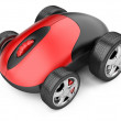 Computer mouse with wheels — Foto Stock