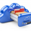 Cloud storage concept — Stock Photo #31110499