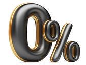 Zero per cento di nero. — Foto Stock