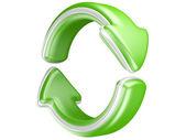 Two circular arrows — Stock Photo