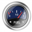 Fuel gauge. — Stock Photo