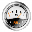 Fuel gauge. — Stock Photo #38164445