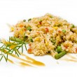 Stock Photo: Rice with vegetable