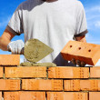 Bricklayer — Stock Photo #13733751