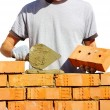 Bricklayer — Stock Photo #18605575