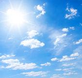 Himmel och sol — Stockfoto