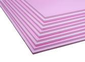 Styrofoam tables — Stock Photo