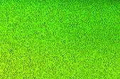 Green water drops — Stock Photo
