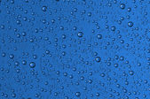 Drops on glass — Stock Photo