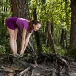 Yoga woman — Stock Photo #13733018