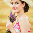 Beautiful spring woman portrait — Stock Photo #13734028
