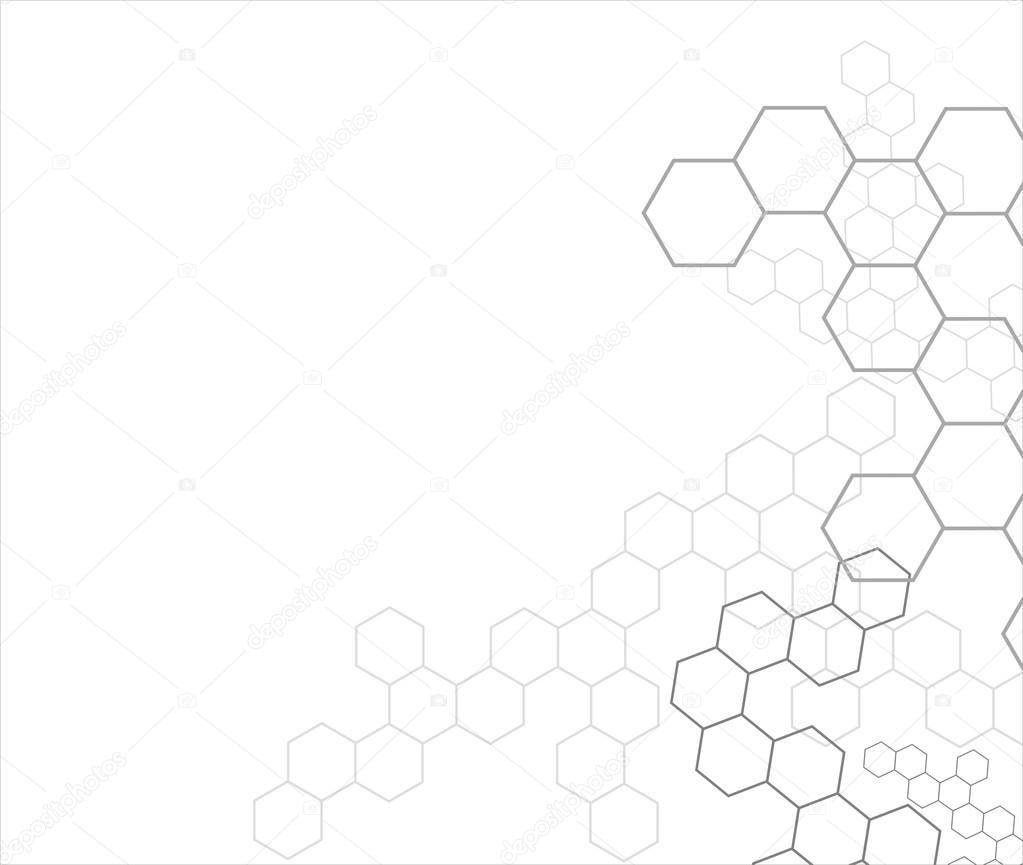 Hexagon background — Stock Vector © Djemphoto #23944545