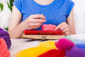 Felting activity — Stockfoto