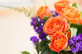 Red roses bouquet — Stockfoto