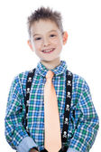 Photo of adorable young happy boy — Stock Photo
