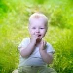 Baby boy — Stock Photo