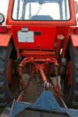 Wheeled tractor — Stock Photo